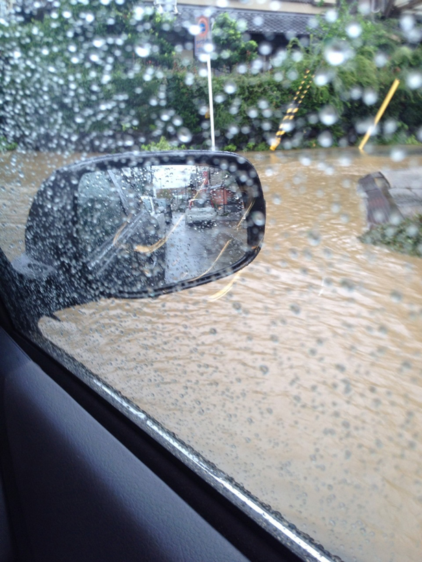 京都 洪水