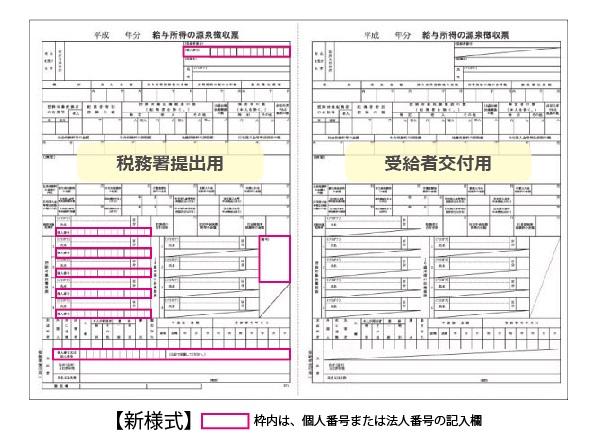 平成28年用 源泉徴収票 - ミモザショップ